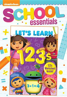 LET'S LEARN:1 2 3 BY LET'S LEARN (DVD)